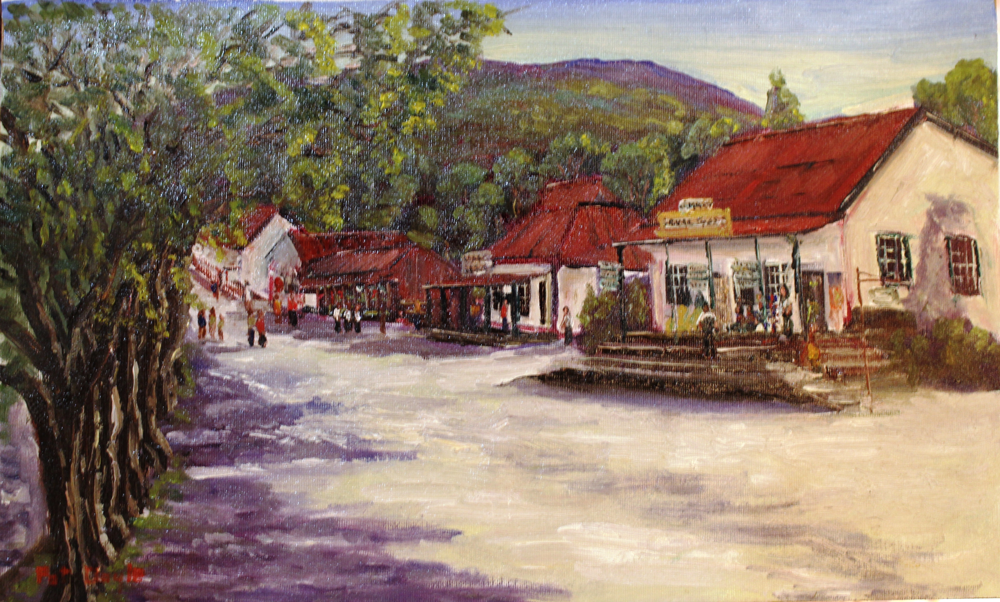 Painting of Pilgrims Rest SA.