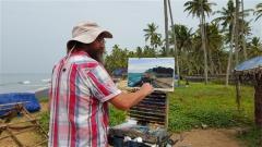 Painting-Fishermen-India