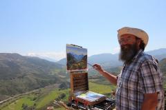 painting-amari-valley-Crete