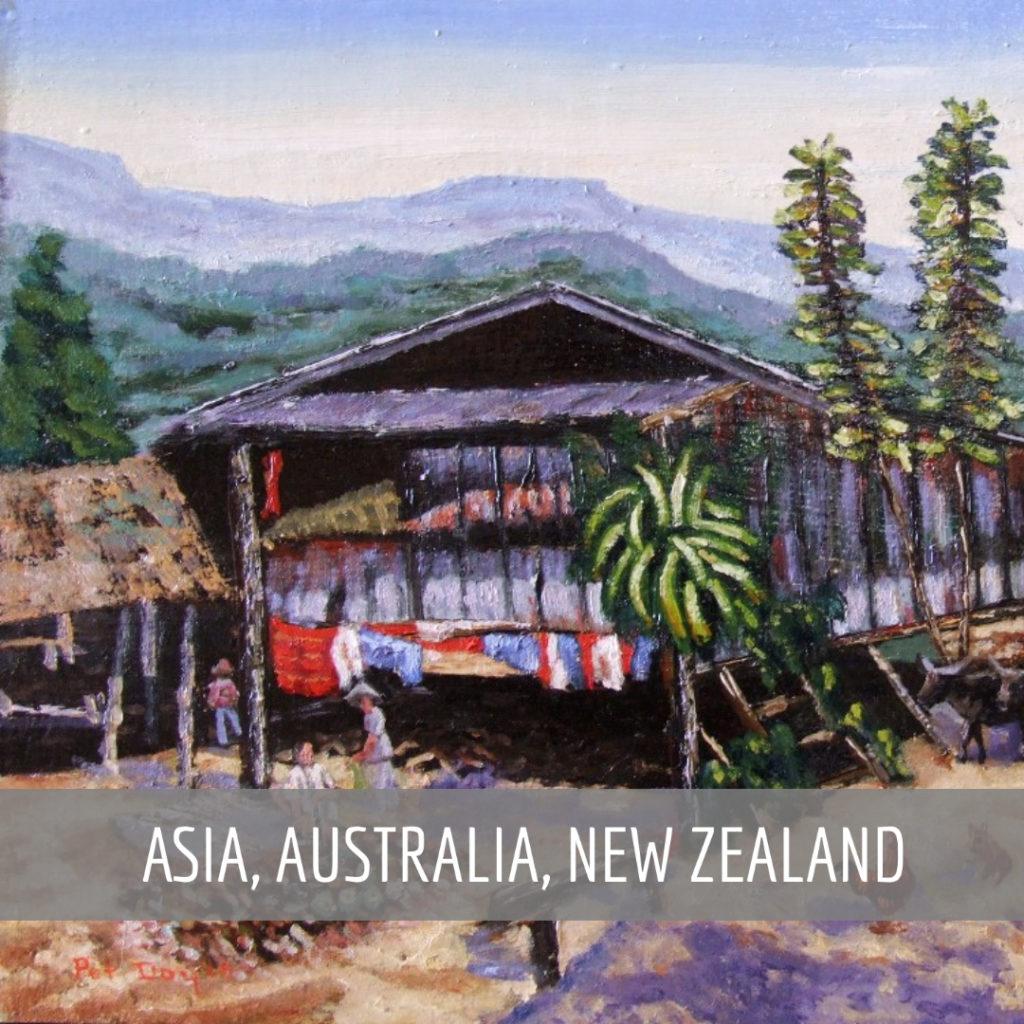 Asia, Australia, New Zealand