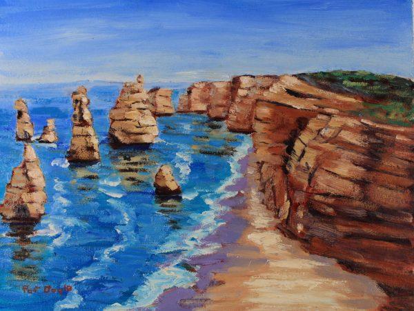 Australia -Great ocean Road AUST102