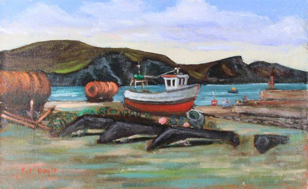 Fishing Port ,Purteen, Achill IRL243