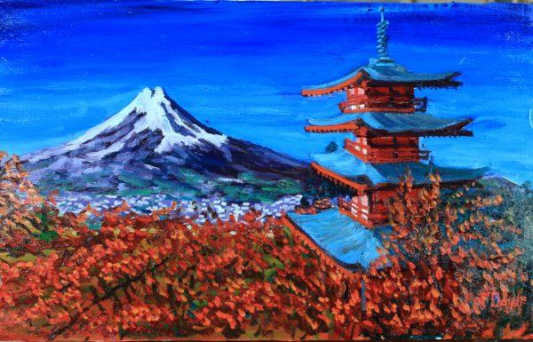 Japan - Mount Fuji View