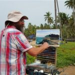 Painting Fishermen India