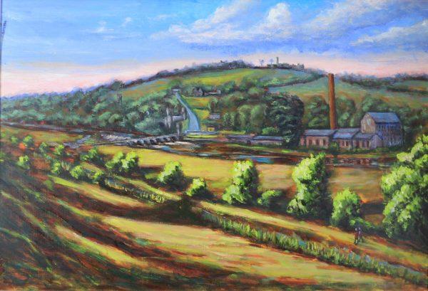 Slane Mill,Boyne,River, Bridge and Hill IRL134