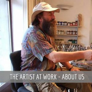 The Artist at Work - About Us